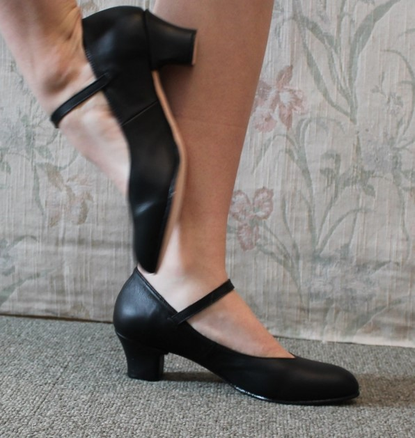 Bloch Curtain Call All Leather Character Shoe