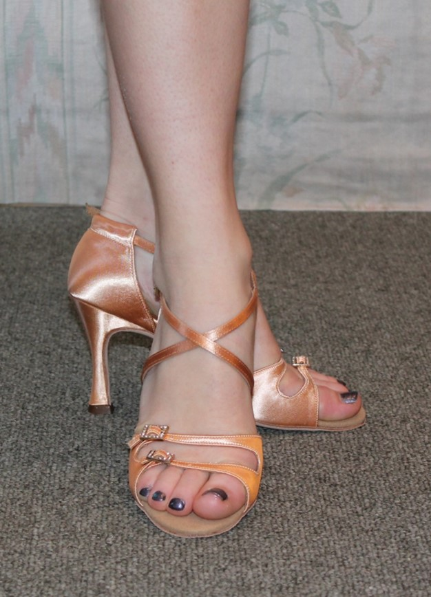 Supadance Tan Satin